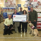 Front Row Left to Right: Jim G and Sophie – WA Team in Training, PETSMART Store Manager, Cherie Boudreaux, WA TX Coordination Liaison, Kevin W and Chandler, WA Team in Training. Back Row: Lance Runnels, PETSMART District Manager.